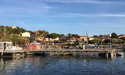 France flotilla Porquerolles harbour