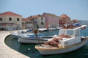 Dalmatia flotilla route - Starigrad