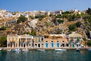 Dodecanese Flotilla Holiday Symi Houses