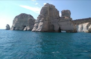 Milos - Kleftiko Bay