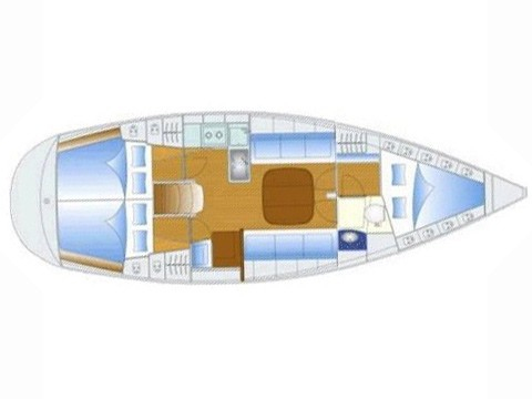 Bavaria 37 Layout