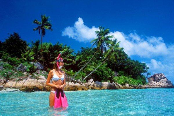 Snorkel in clear water