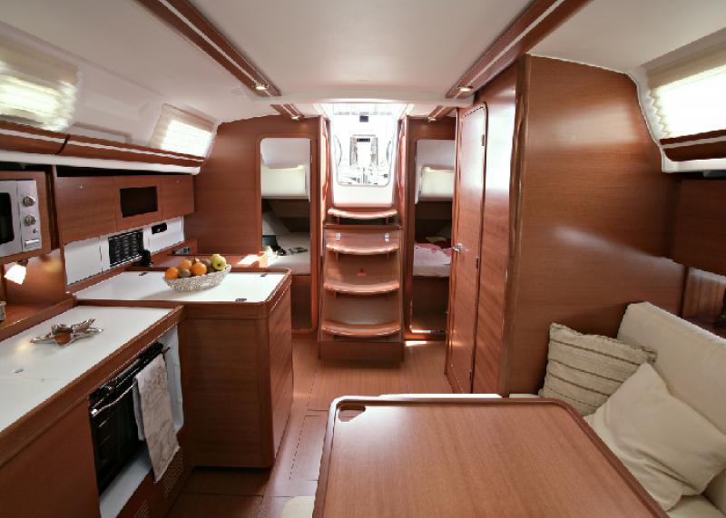 dufour 380 interior