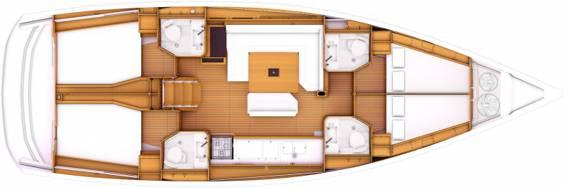 sun-odyssey-469-layout