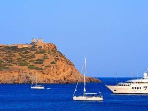 Cabin Charter - Cape Sounion