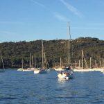 France flotilla Porquerolles bay