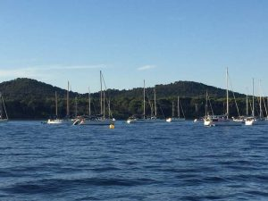 France flotilla Port Cros
