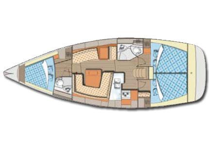 Elan 384 - 2009 - Ageras layout