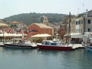 Gaios harbour, Paxos