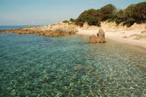 Corsica Sailing Cruise Crystal Clear Water