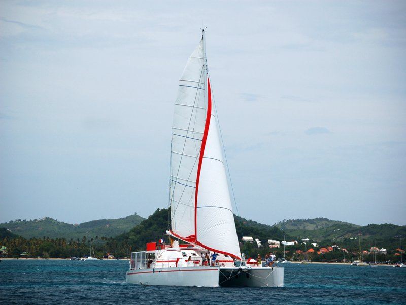 Dream 82 Catamaran exterior