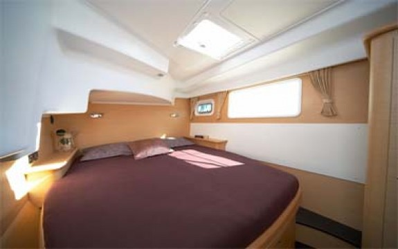 Lagoon 440 cabin