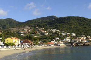 Martinique beachfront