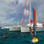 Dream 82 Swimming in Martinique