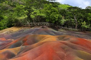 Mauritius Coloured Sands