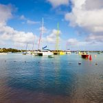 Mauritius Colourful Catamarans