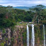 Mauritius Waterfall landscape