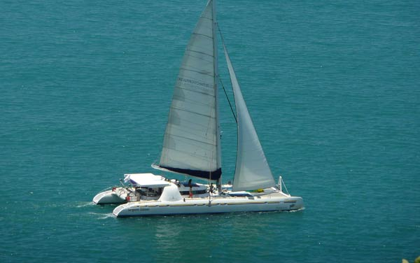 Nautitech 82 in Maldives
