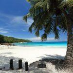 Seychelles Sailing Cruise Beach