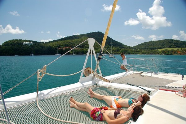 Seychelles Catamaran Cabin Chartered Cruise