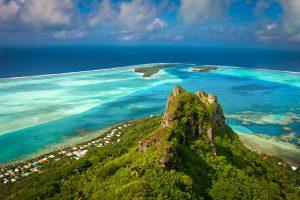 Tahiti Aerial View