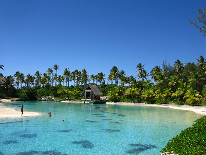 Tahiti Swimming spot
