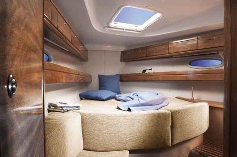 Bavaria 39 Cabinfront