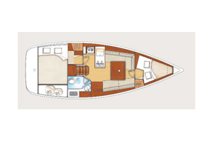 Oceanis 31 layout