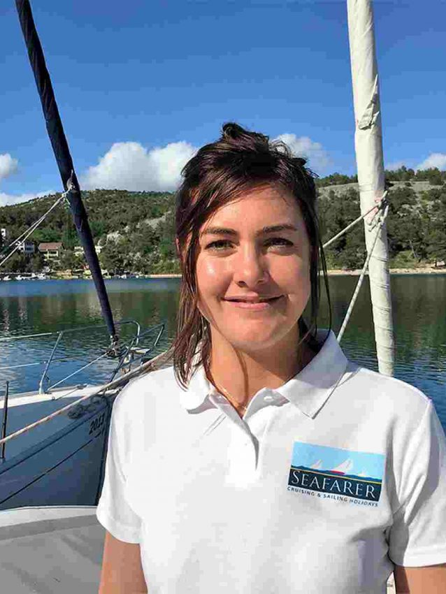 1st Mate - Gemma Batchelor