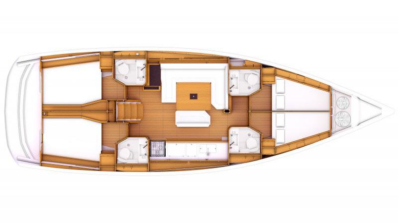 sun-oddyssey-469-layout