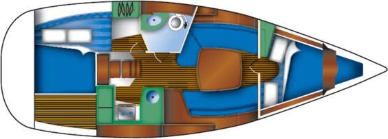 sun-odyssey-32i-layout