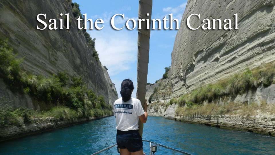 Cabin Charter - Corinth Canal