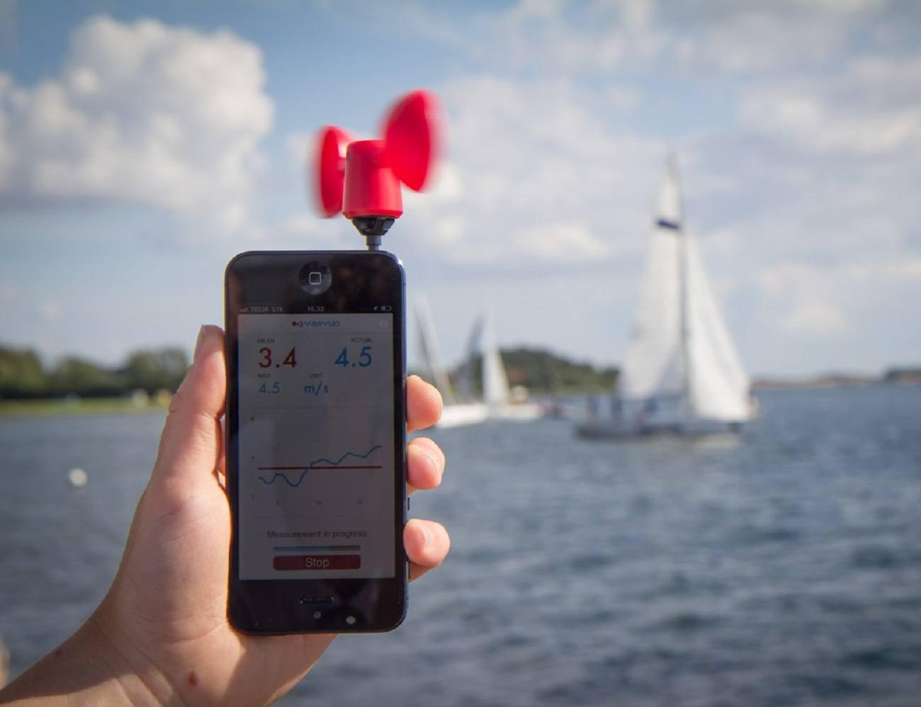 Phone Wind Meter