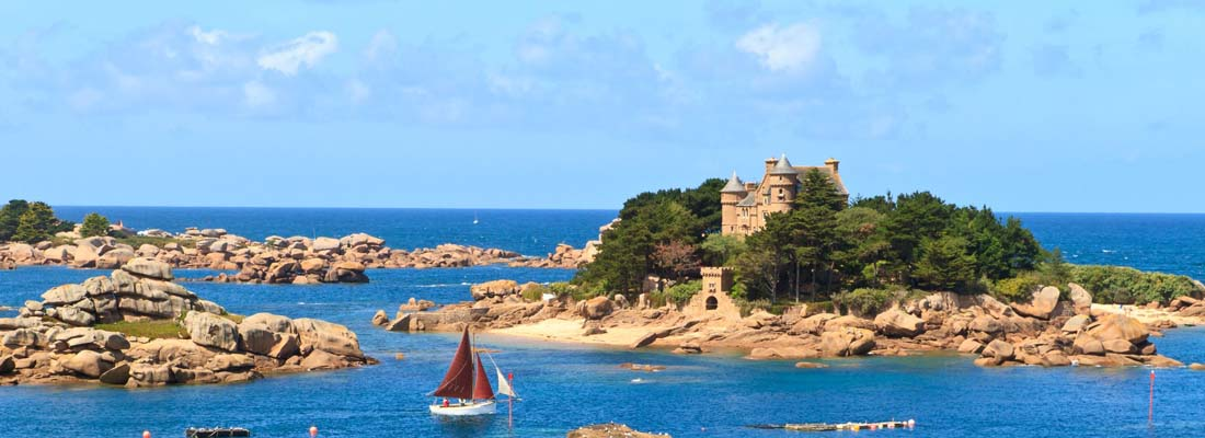 Brittany yacht charter
