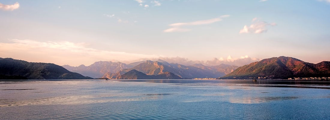 Yacht charter in the bay of Marmaris