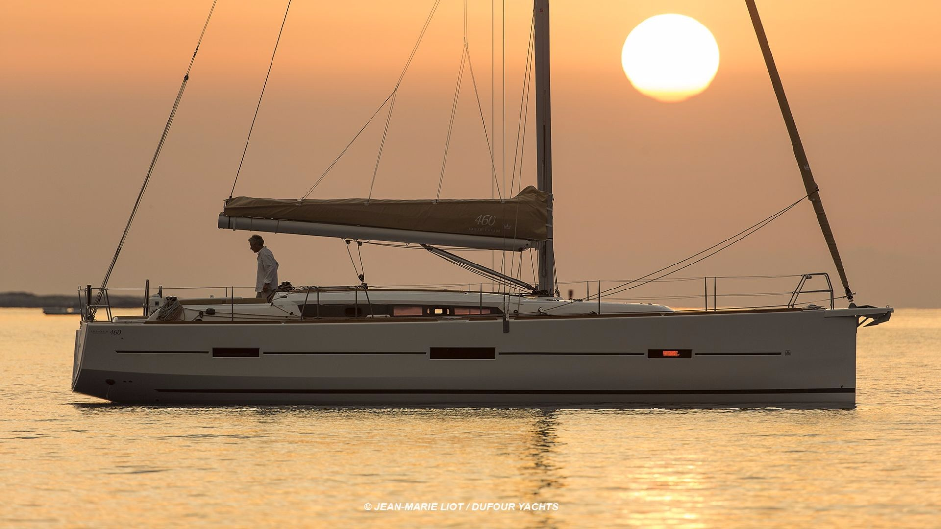 Dufour 460 GL Liberty sunset