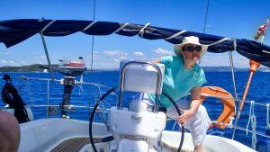 RYA courses in beautiful Croatia, sailng from Zaton, Sibenik, learn to sail along the Dalmatian coast and Islands