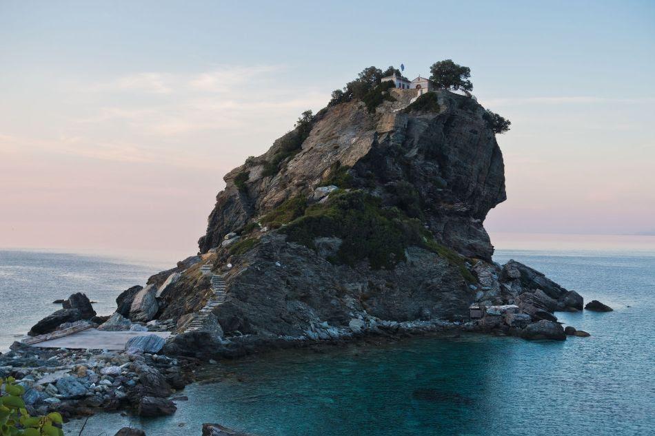 Agios Ioannis Kastri on Skopelos