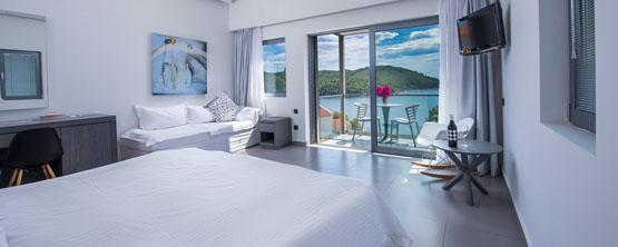 Adrina Sea View Room