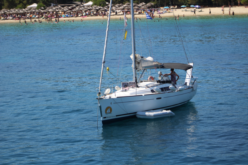 Beneteau Oceanis 37 Limited Edition 2013 at sea
