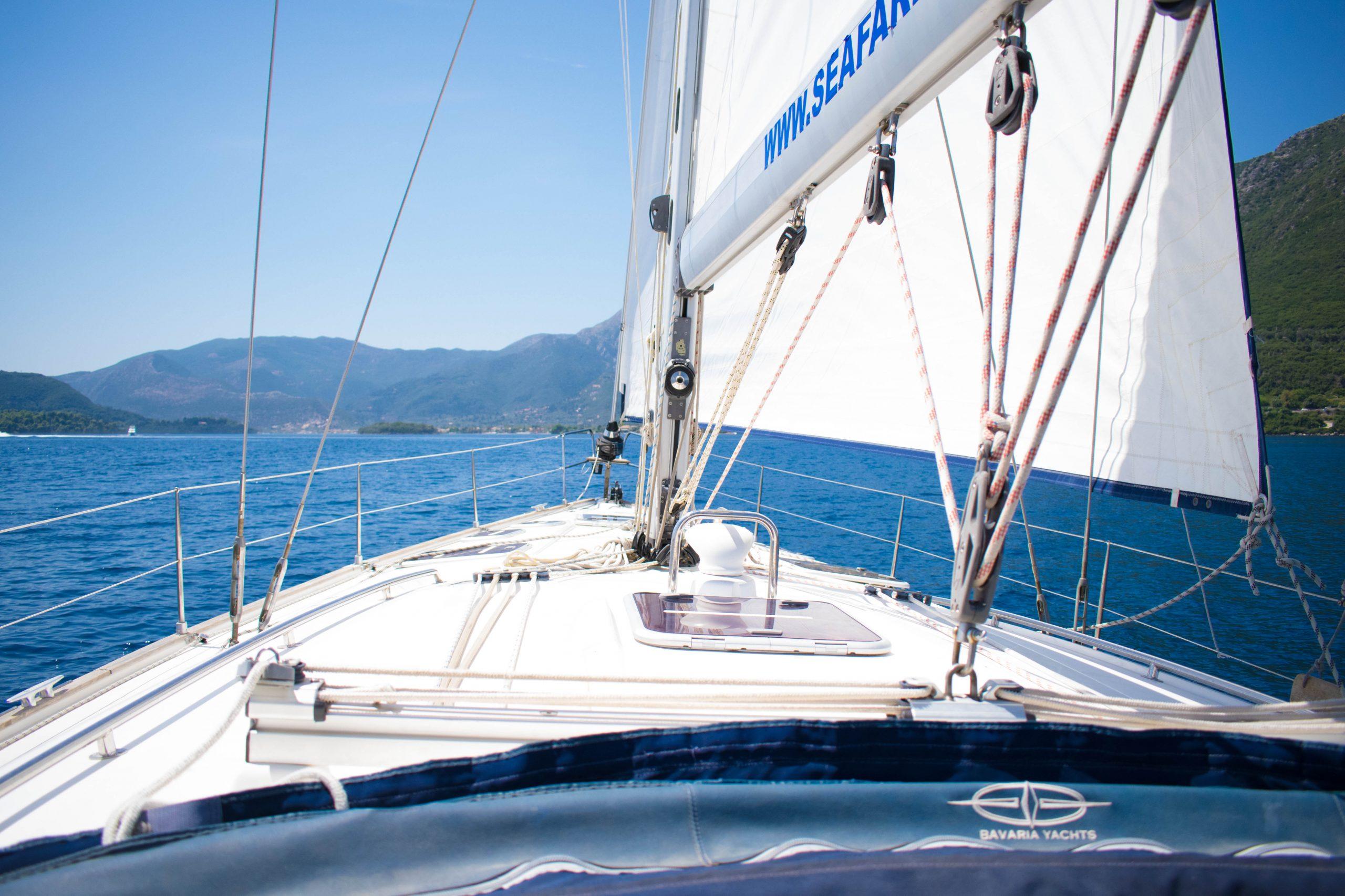 Bavaria 50 deck