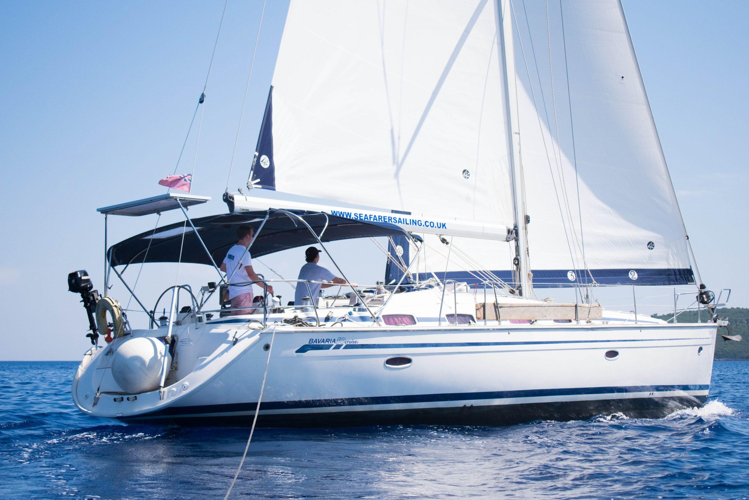 Bavaria 50 sailing