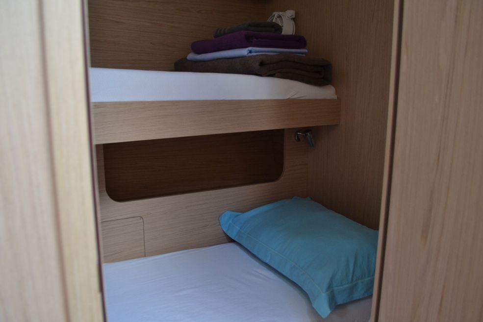 Oceanis 51.1 bunk cabin